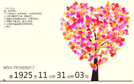 【推荐源码】恋爱表白网页源代码合集